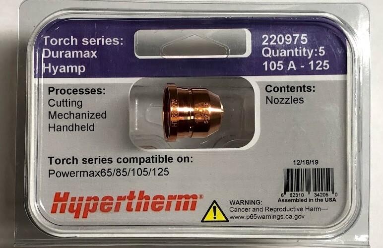 Bép cắt 220975 Hypertherm nozzle