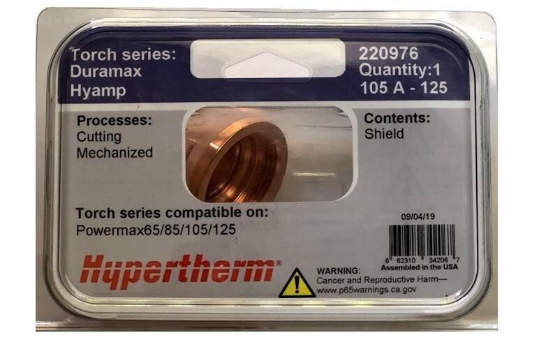 Chụp bép 220976 Hypertherm Shield