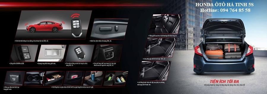 Honda Civic nhập khẩu mới - Honda Ôtô Hà Tĩnh 5S - Hotline: 0947648558 - Hình 26