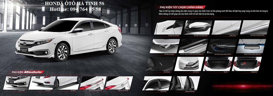 Honda Civic nhập khẩu mới - Honda Ôtô Hà Tĩnh 5S - Hotline: 0947648558 - Hình 29