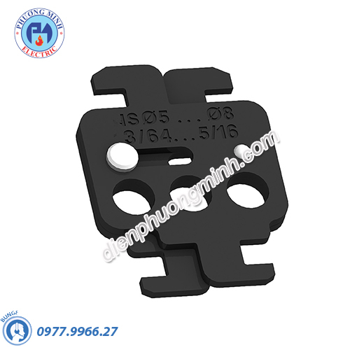 Toggle locking device for 1 to 3 padlocks (removable) for NSX400/630 - Model 29370