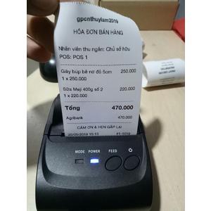 Máy in hóa đơn Bluetooth RI 5802DD