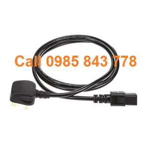 2m Electrical supply cable with IEC socket North European plug