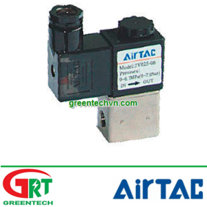 2V025-06 | Airtac 2P025-06-A | Van điện từ 2V025-06 | Solenoid Valve 2V025-06 | Airtac Vietnam