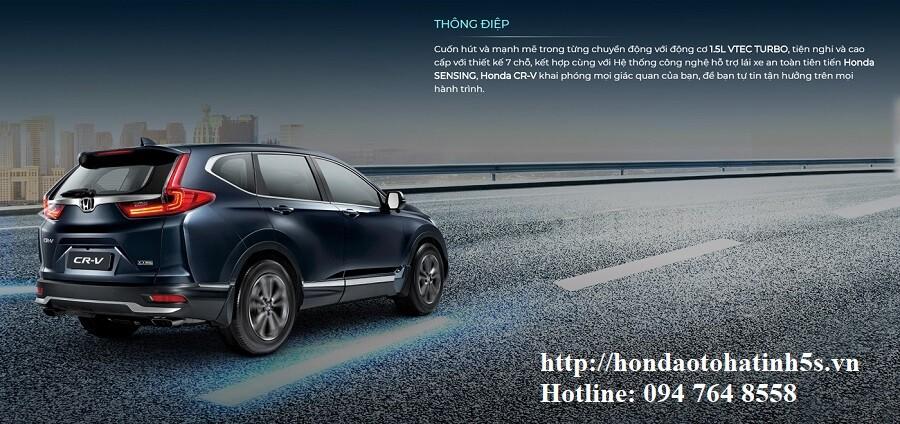 Honda CRV mới - Honda Ôtô Hà Tĩnh 5S - Hình 3
