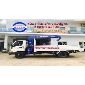 Xe tải hyundai HD800 gắn cẩu TADANO TM-ZE304MH (3 tấn 4 đốt )
