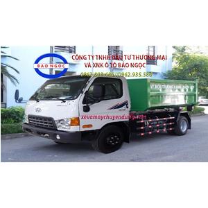 Xe chở rác thùng rời 9 khối (m3) hyundai hd700
