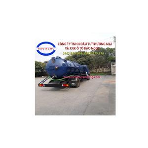 Xe hút chất thải 7 khối hyundai HD800