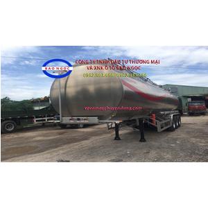 Sơ mi rơ mooc téc chở 44 khối xăng dầu hợp kim Nhôm