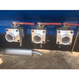 Xe téc chở xăng dầu 11 khối thaco ollin 950A