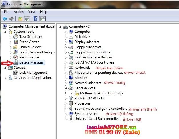 Hướng dẫn cách kiểm tra Driver cho Laptop Dell