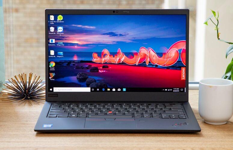 Lenovo ThinkPad X1 Carbon Gen 7 Core i7 10710U / RAM 16GB / M.2 PCIe 1TB 4K HDR , Mới 100%