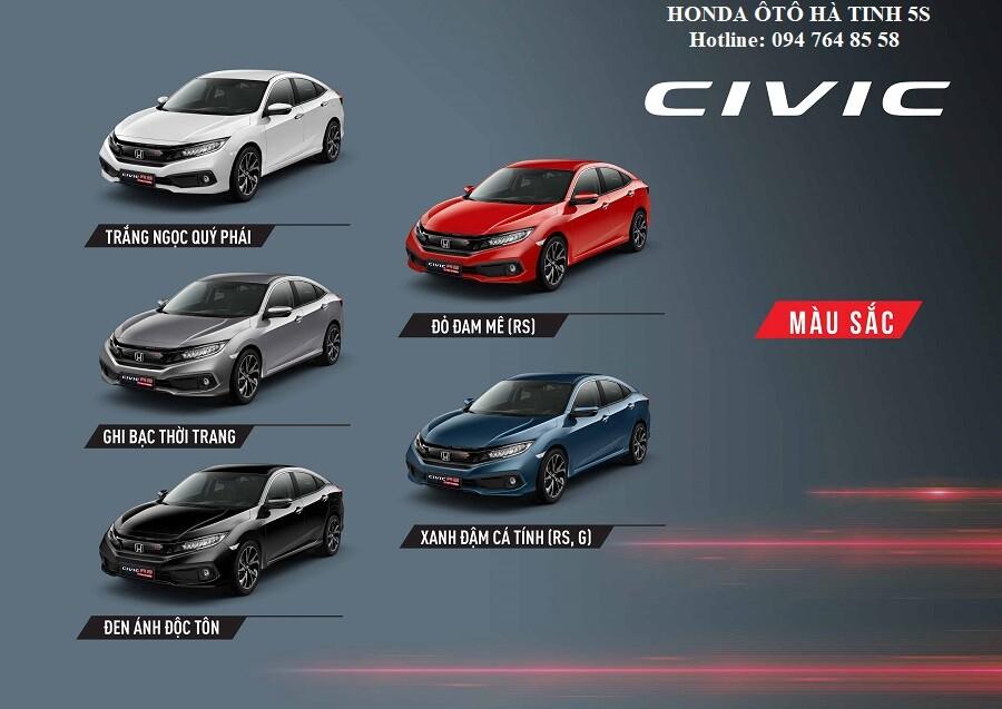 Honda Civic nhập khẩu mới - Honda Ôtô Hà Tĩnh 5S - Hotline: 0947648558 - Hình 30