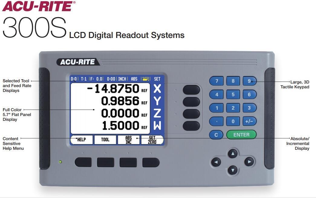 Màn hình hiển thị ACU RITE 300S