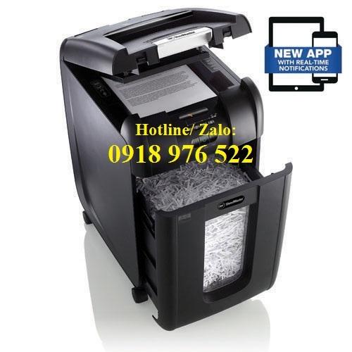Máy hủy giấy GBC AUTO + 300X (GBC Cross Cut Shredder AUTO+ 300X SmarTech™)