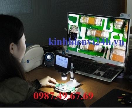 Kính hiển vi kỹ thuật số có màn hình HMD600