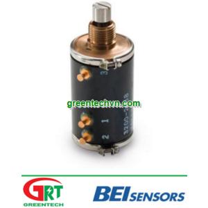 Angular position sensor / non-contact / Hall effect / analog ø 52 mm, 12 x 13 bit   TCW4