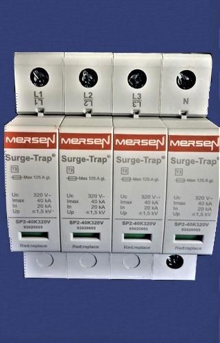 STPT2-40K320V-4PGM Thiết bị cắt sét 3 pha 4 dây 40kA 220/400 VAC