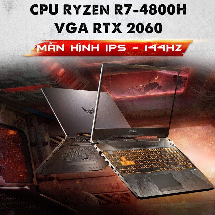 ASUS TUF 2020 (FA506IV) | AMD Ryzen 7-4800H | 8G | 512G | RTX 2060 | FHD (NEW)