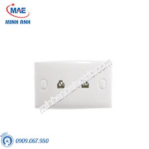 Bộ 2 ổ cắm điện thoại-Series S-Classic 30 - Model 3301_2_G19