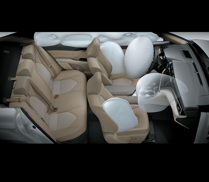 Túi khí an toàn Toyota Camry