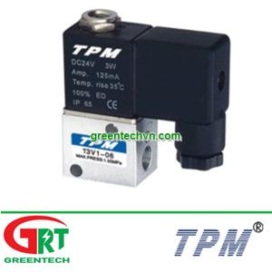 3V106-220VAC | TPM 3V106-220VA | Air solenoid valve | Van điện từ khí nén 3V106-220VAC | TPM Vietnam