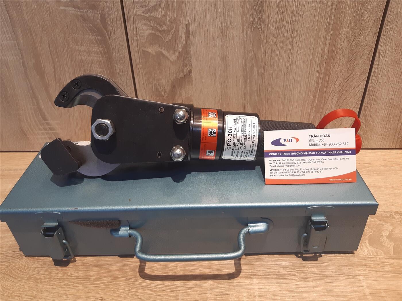 Đầu cắt cáp thủy lực CPC-30H