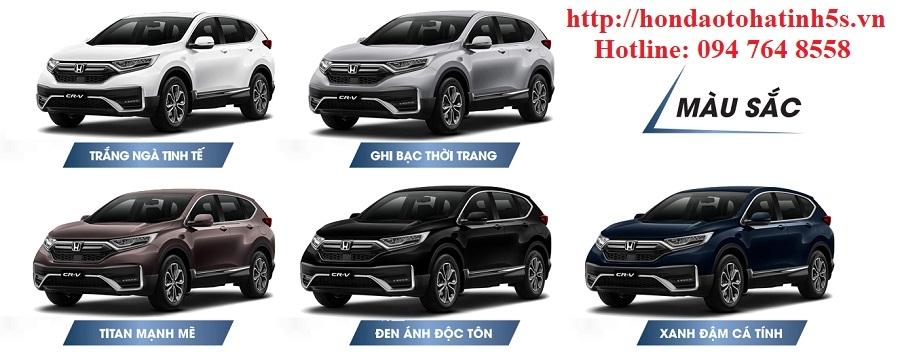 Honda CRV mới - Honda Ôtô Hà Tĩnh 5S - Hình 4