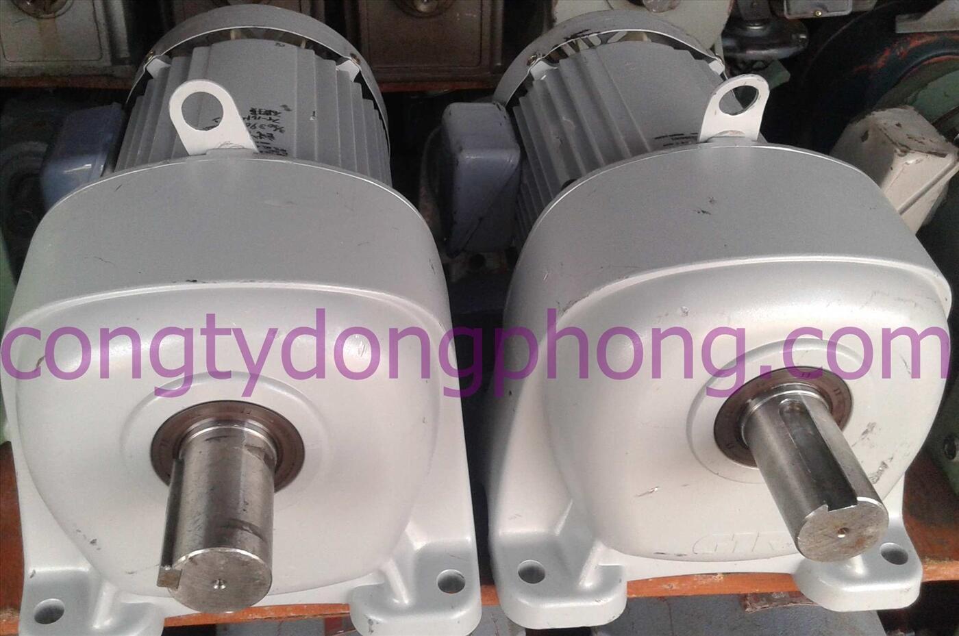 Motor giảm tốc Nhật cũ GTR 3hp 1/20