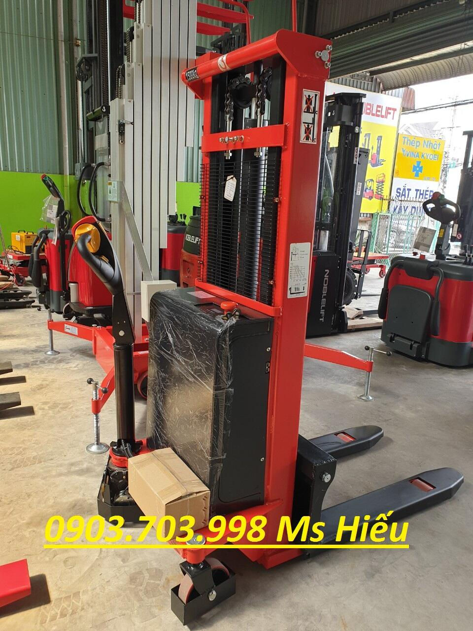 Xe nâng trợ lực Niuli - Taiwan CTD-C1016 1000kg nâng cao 1600mm