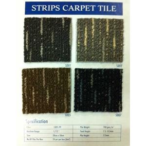Thảm gach Strips carpet