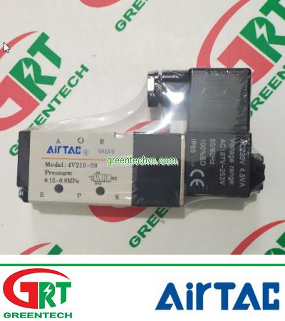 4V210-08   Airtac 4V210-08   Van điện từ Airtac 4V210-08   Solenoid Valve 4V210-08   Airtac Vietnam