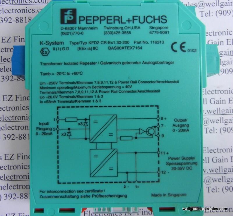 Bảng giá thiết bị Pepperl Fuchs, ANS vietnam P5