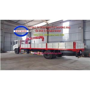 Xe tải dongfeng B170 gắn cẩu unic 370 ( 3 tấn 5 đốt)