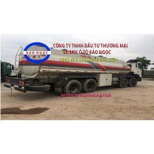 Xe téc chở xăng dầu 22 khối hyundai HD320