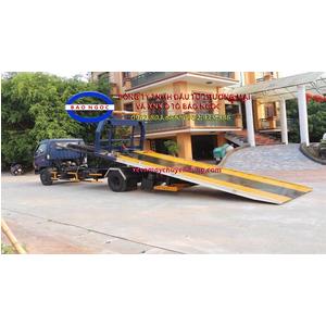 Xe cứu hộ giao thông sàn trượt kéo chở xe HD 120 sl