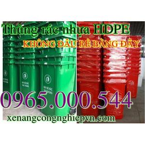 5 Lý do nên sử dụng thùng rác nhựa HDPE