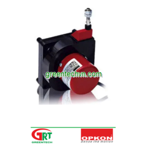 500 - 3 500 mm | DWE | Draw-wire displacement sensor | Cảm biến dịch chuyển dây rút | OPKON Việt Nam