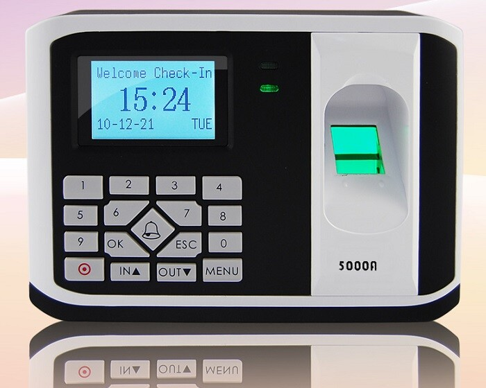 Máy chấm công kiểm soát cửa vân tay, thẻ 5000AID