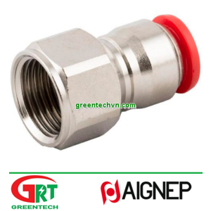 50030   Aignep   Push-in fitting / threaded / straight / for compressed air   Aignep Vietnam