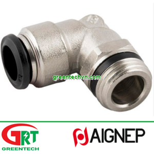 50111N   Aignep   Push-in fitting / threaded / elbow / for compressed air   Aignep Vietnam