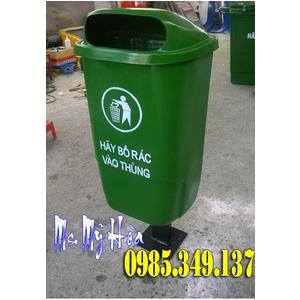 Thùng rác 55 lít chân sắt giá cực rẻ