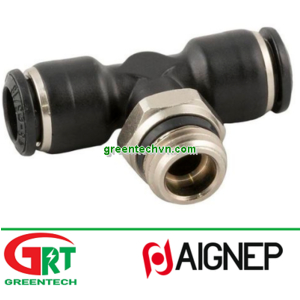 55211   Aignep   Push-in fitting / threaded / T / for compressed air br  Aignep Vietnam