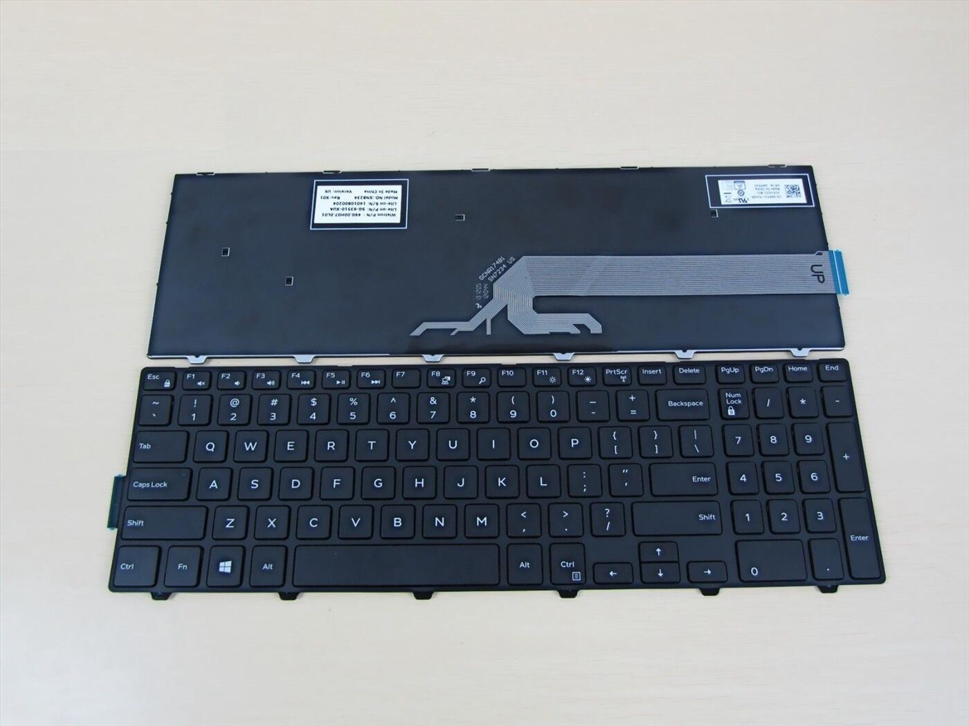 bàn phím laptop Dell Inspiron 15 5548 (không LED)