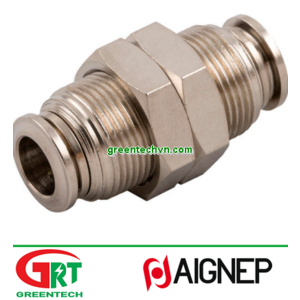 57050   Aignep   Push-in fitting / straight / for compressed air / hydraulic   Aignep Vietnam