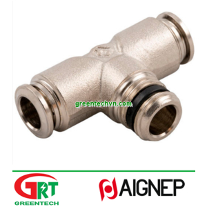 57200   Aignep   Push-in fitting / T / for compressed air / hydraulic   Aignep Vietnam