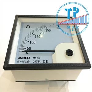 Đồng hồ Ampe 250/5A