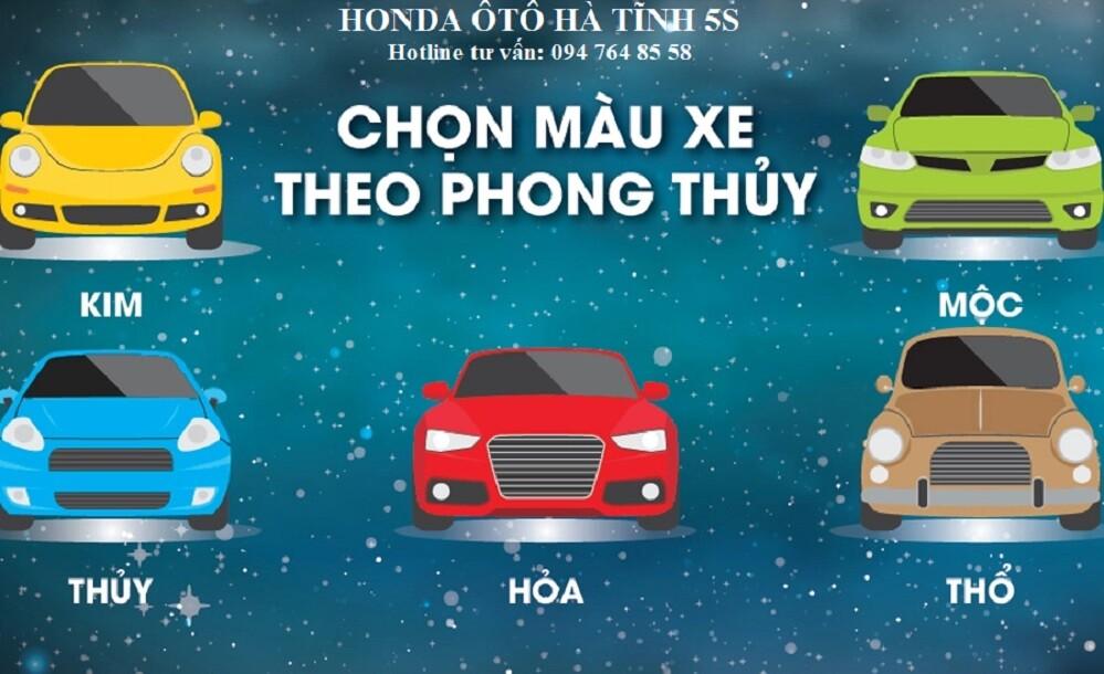 Chọn màu xe hợp tuổi phong thủy    Honda Ôtô Hà Tĩnh 5S    Hotline: 0947648558    Hình 5
