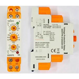 Rơ le bảo vệ điện áp Selec 600VPR 310/520