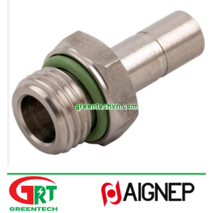 60600   Aignep   Push-in fitting / straight / for compressed air / stainless steel   Aignep Vietnam